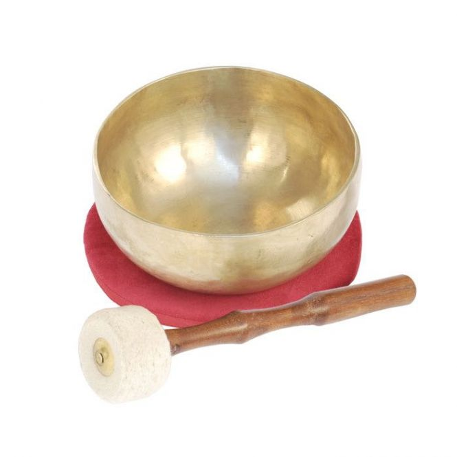 Traditional singing bowl, M