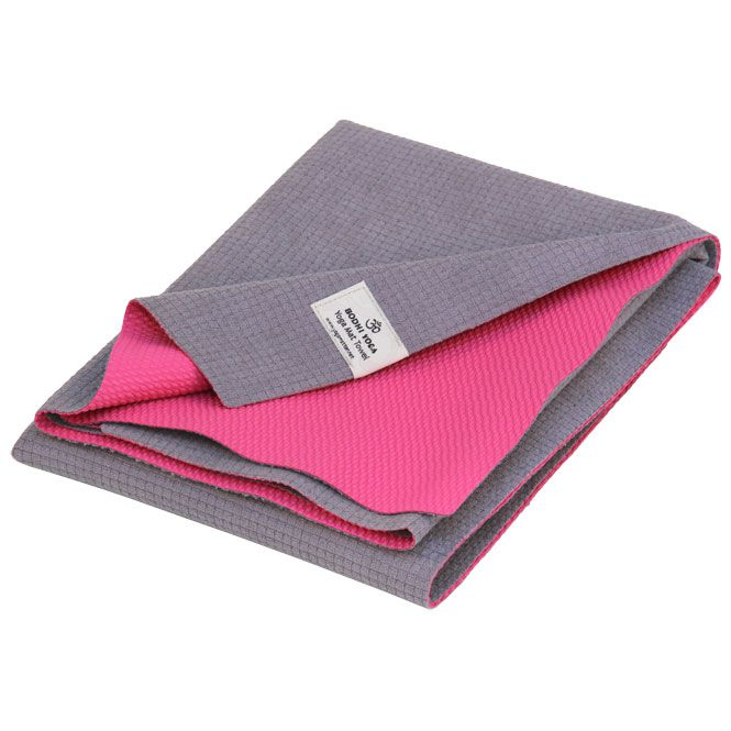 Yoga mat towel Yatra, microfiber with TPE coating