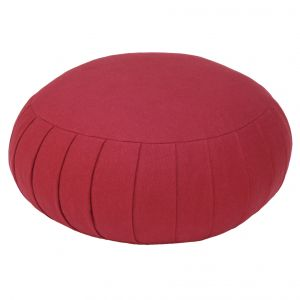 Meditation cushion ZAFU BASIC purple, 32 x 17 cm.